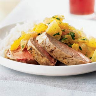 Pork Tenderloin with Xec (Mayan Citrus Salsa)