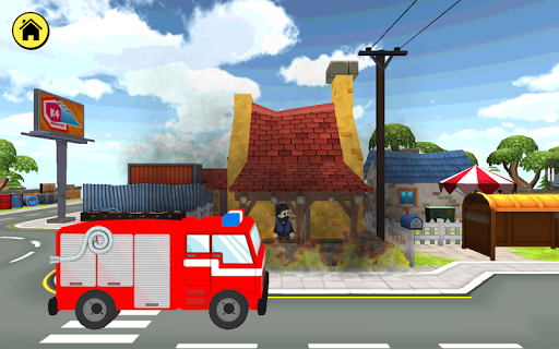 Kidlo Fire Fighter - Free 3D Rescue Game For Kids 1.6 screenshots 10