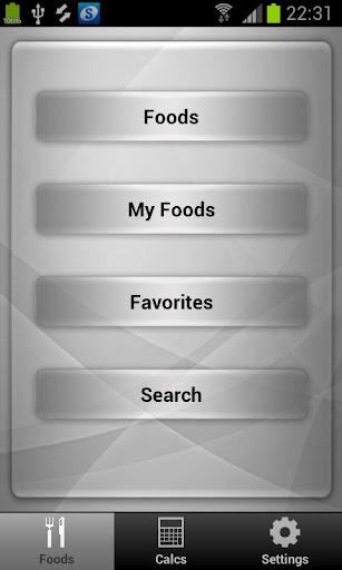 Diet Calories Tracker