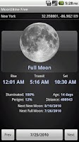 Screenshot of MoonShine Free