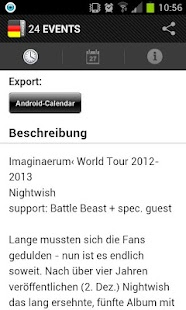 24 EVENTS › Eventguide - screenshot thumbnail