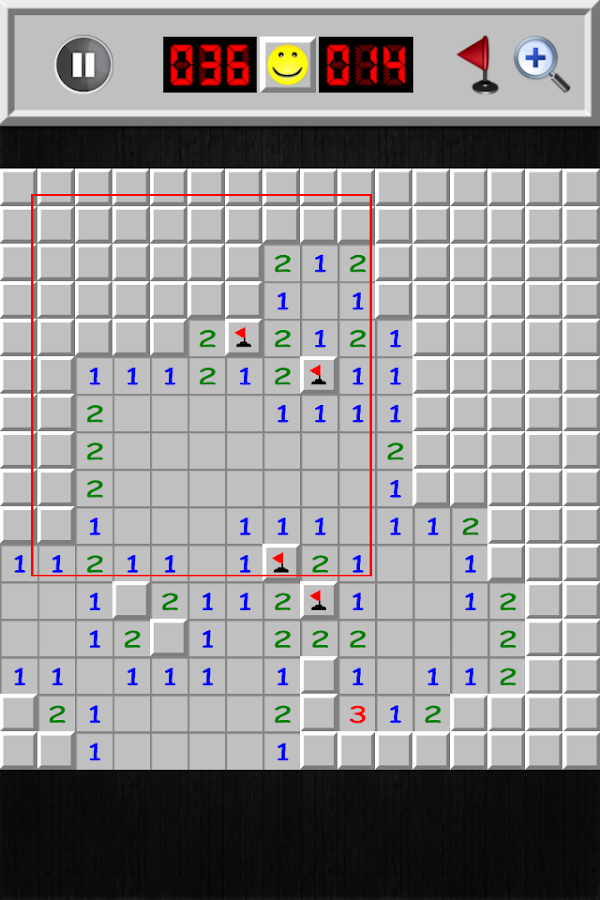 Minesweeper Deluxe- screenshot