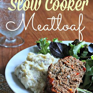 Slow Cooker Meatloaf
