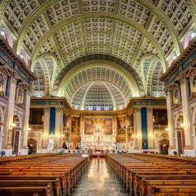 Our Lady of Sorrows Basilica by John Williams - Buildings & Architecture Places of Worship ( building, interior, worship )