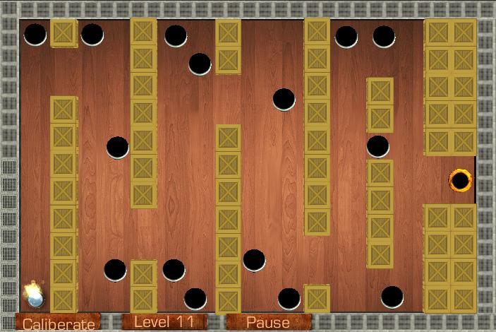 Wooden Labyrinth- screenshot
