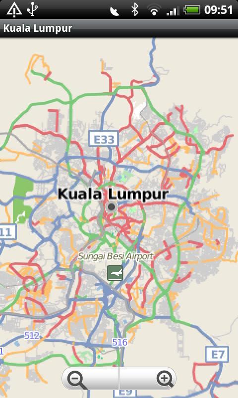 Kuala lumpur street map android apps on google play kuala lumpur street map screenshot sciox Choice Image