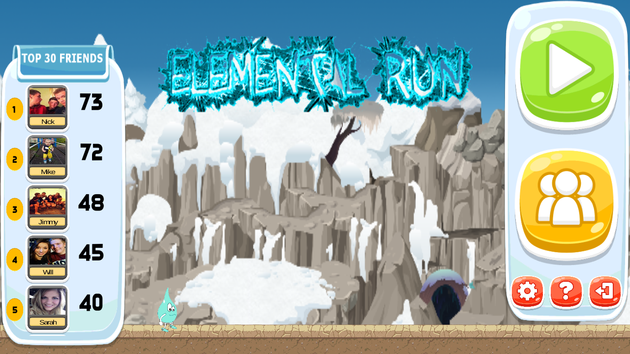 Elemental Run- screenshot