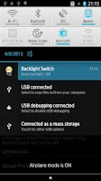 Screenshot of Backlight Switch