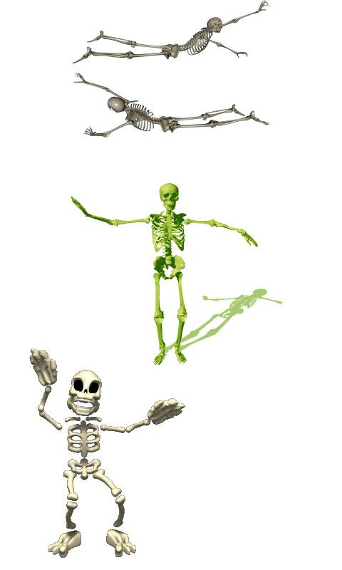 Dancing Skeletons Live Wall - screenshot