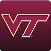 Virginia Tech Hokies Clock