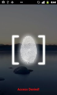 Fingerprint Lock Screen - screenshot thumbnail