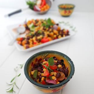 Herbed Cuban Black Bean Salad