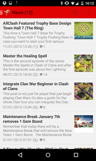 Clash of News + Free Gems Tips