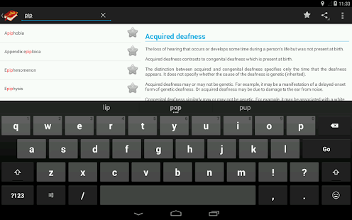 App Medical Terminology Dictionary:Search&Vocabulary APK for Windows Phone