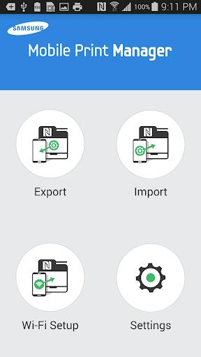 Samsung Mobile Print Manager screenshots 1