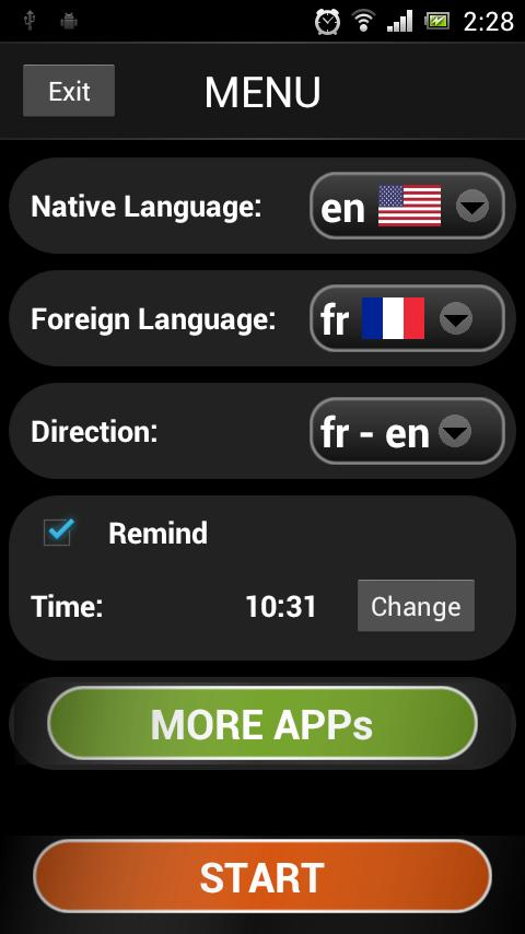French lessons (free & fun)- screenshot