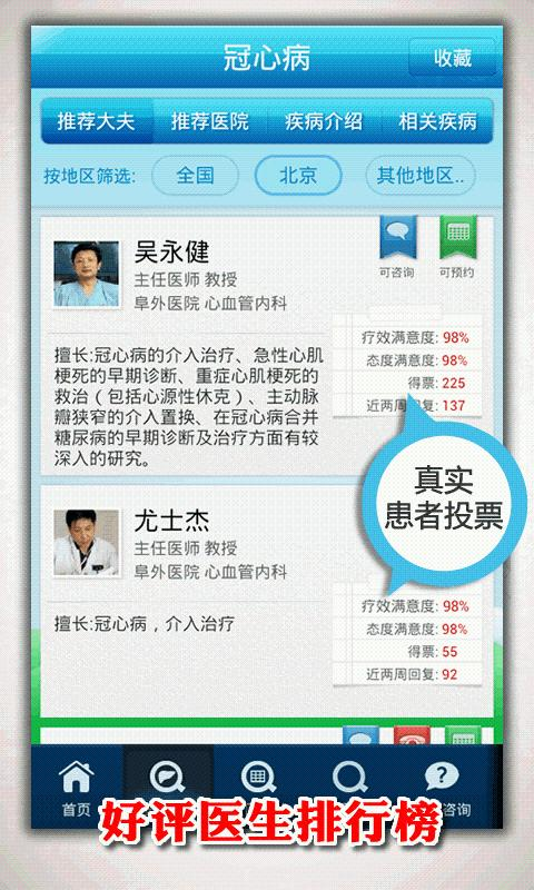 Good doctor online (haodf.com) - screenshot