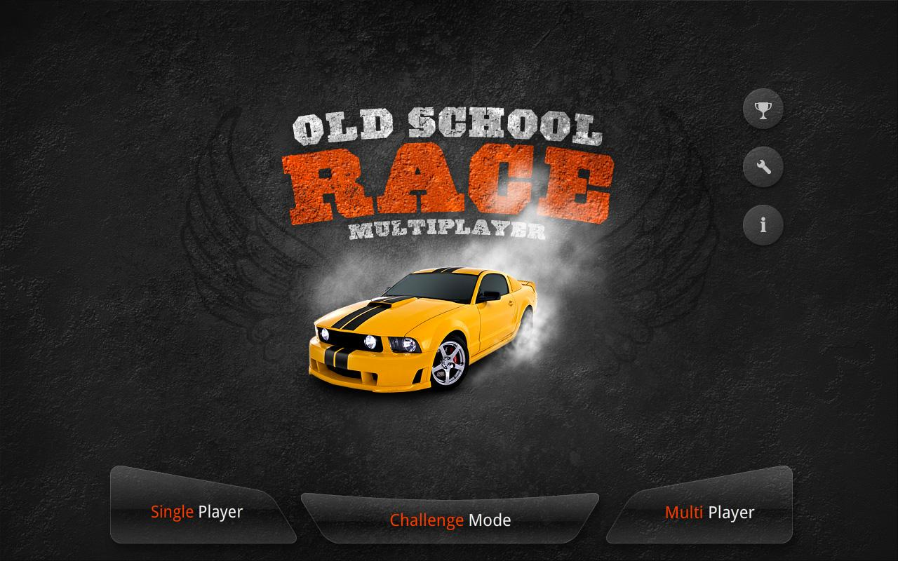 Old School Race for tablets - screenshot
