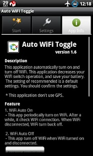 Auto WiFi Toggle - screenshot thumbnail