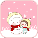 Bebe Snowman go locker theme icon