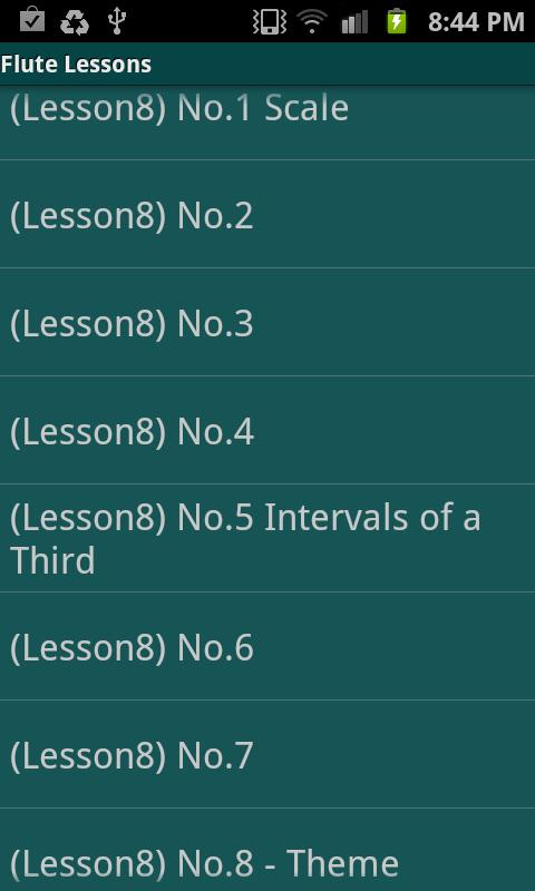Flute Lessons - Altés No.1- screenshot