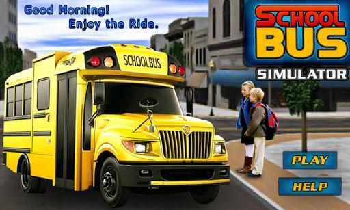 SCHOOL BUS SIM 3D -LIMO DRIVER