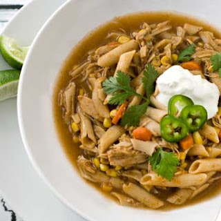 Gluten Free Mexican Chicken Noodle Soup