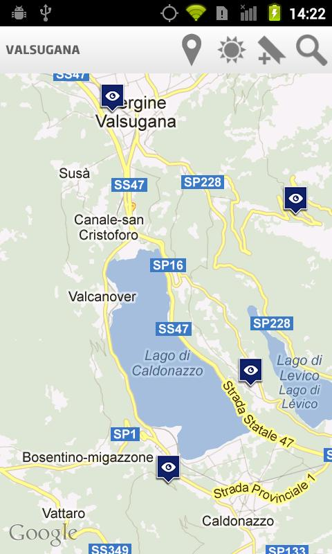 Valsugana Travel Guide- screenshot