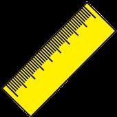 Ruler (cm, inch)