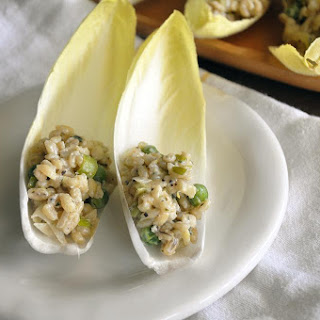 Barley Risotto Stuffed Endive