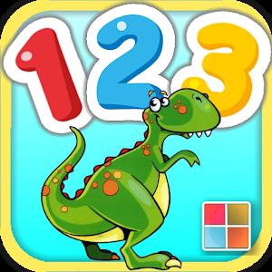 認識數字123圖卡/拼圖 教育 App LOGO-APP試玩