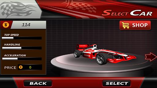 RC F1賽車爬坡