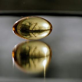 Vitaminosphere by Ciddi Biri - Artistic Objects Healthcare Objects ( pill, reflection, vitamin, shiny )