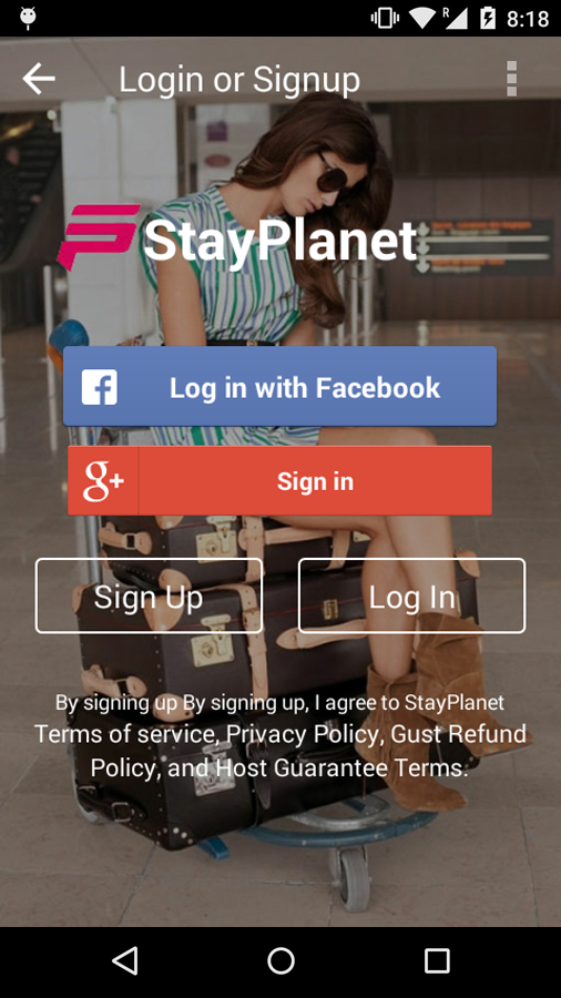 StayPlanet- screenshot
