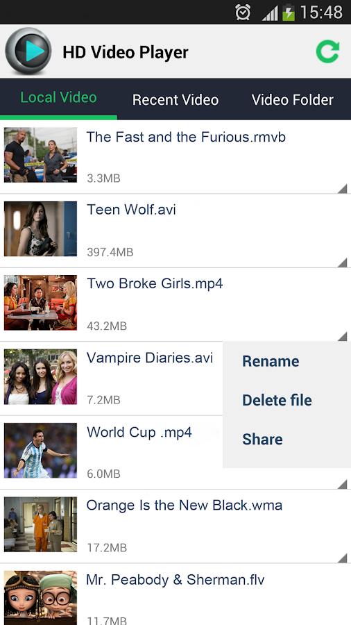 Hd Video Player Android Apps On Google Play