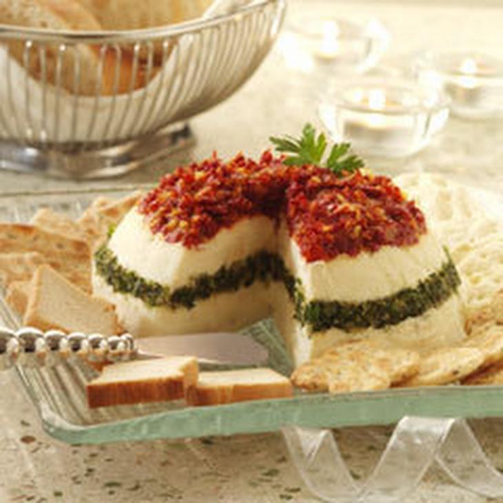 Layered Torta Appetizer Recipe