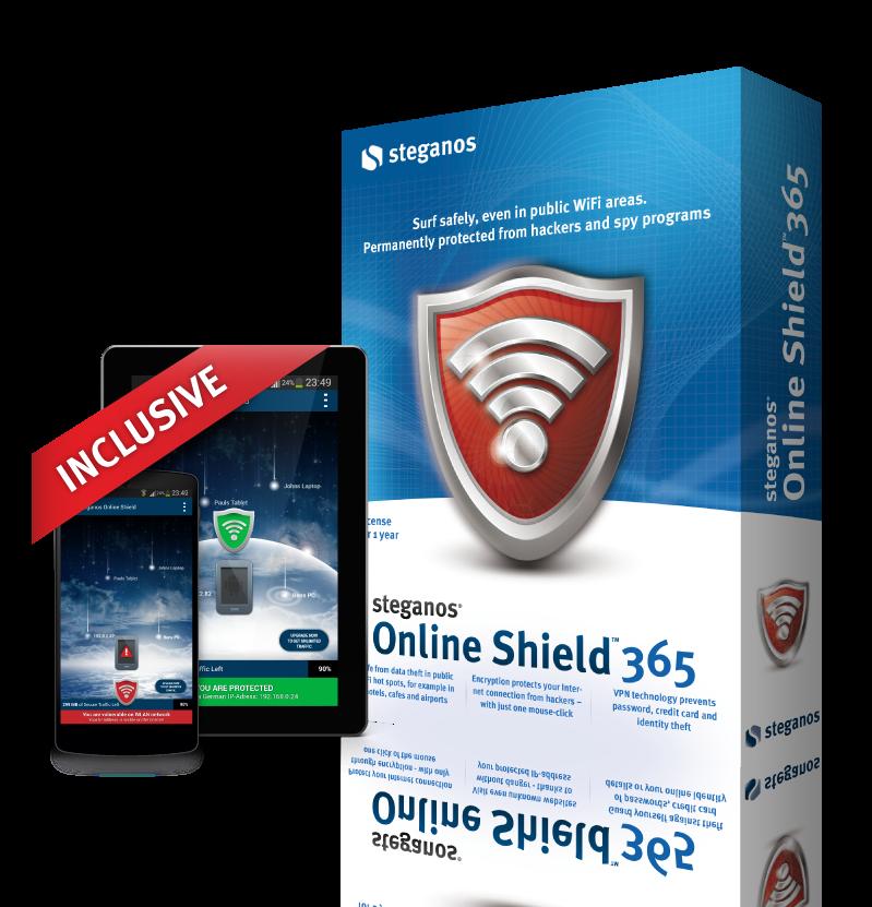 Steganos Online Shield VPN- screenshot