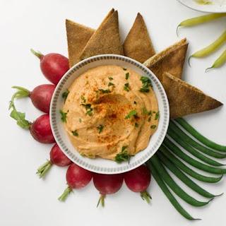Red-Lentil Hummus.