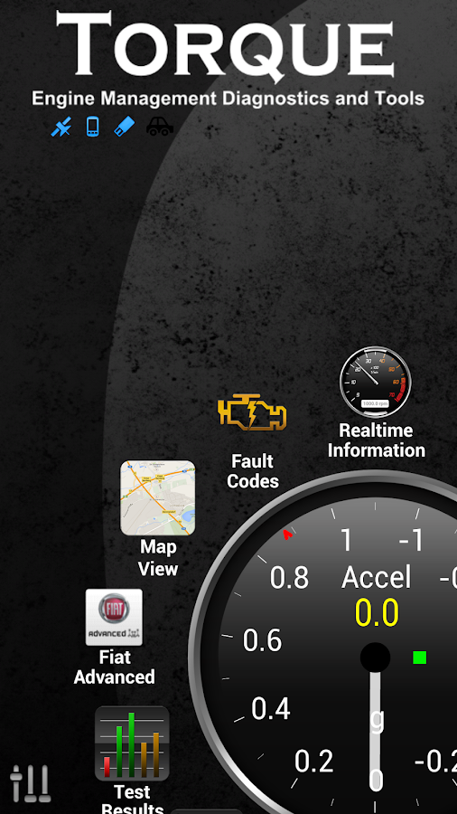 Torque Pro (OBD2 / Carro) - screenshot