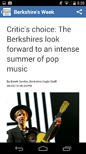 Berkshire Eagle- screenshot thumbnail