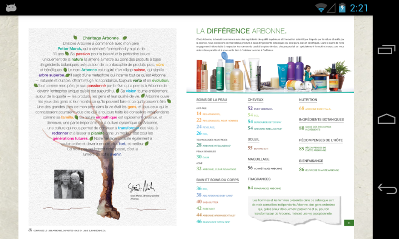 Arbonne - screenshot
