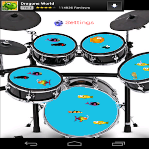Fish Tank Drums for PC and MAC