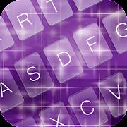 Purple Charm Keyboard Theme