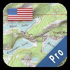 US Topo Maps Pro icon