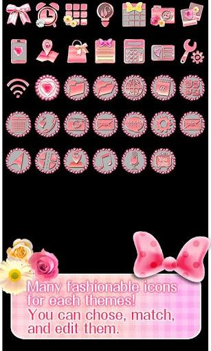 Cute Theme Glittery Romance 1.0 Windows u7528 4