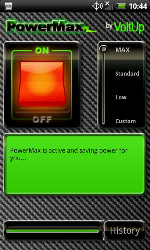 PowerMax- screenshot
