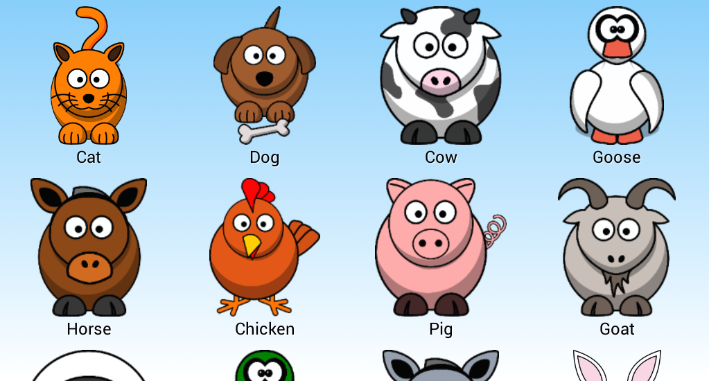 Animal Farm for Kids - Learn Animals for Toddlers - Apps ...