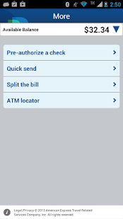 Bluebird by American Express - screenshot thumbnail