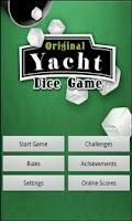 Screenshot of Original Five Dice Game
