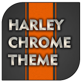 Harley Chrome Go theme